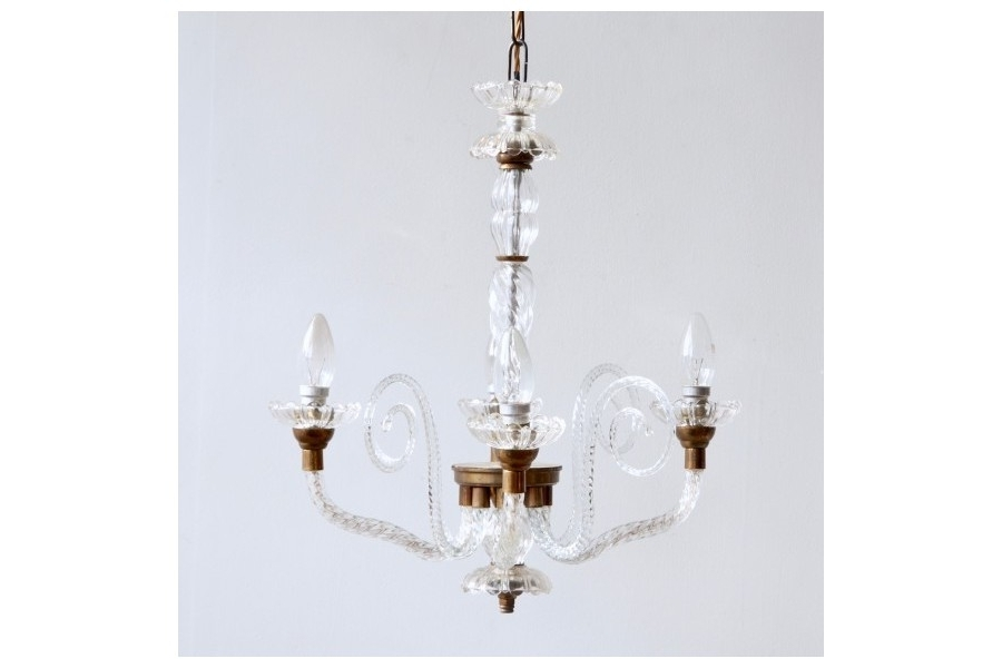 Vinterior Regarding Well Known French Glass Chandelier (Gallery 3 of 10)