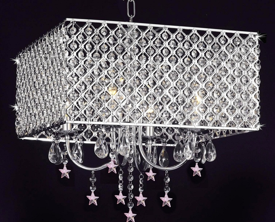 Well Known 4 Light Chrome Crystal Chandelier Design — Best Home Decor Ideas : 4 For 4 Light Chrome Crystal Chandeliers (View 8 of 10)