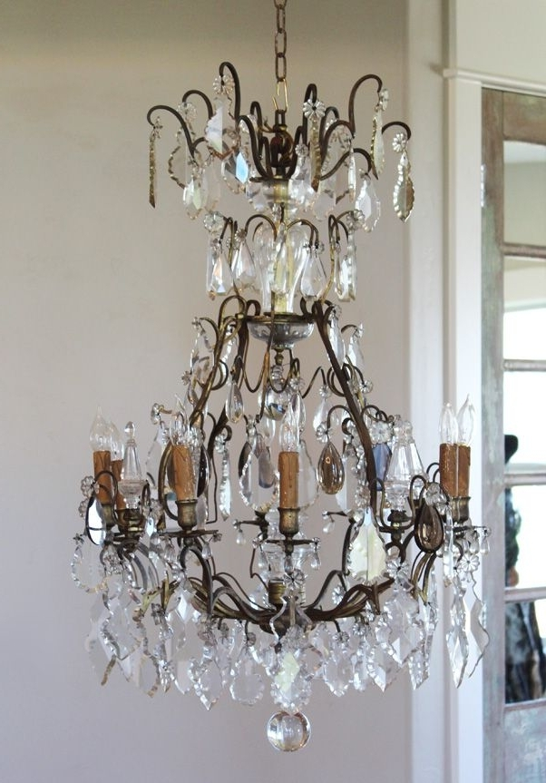 Well Known Antique French Chandeliers Intended For 614 Best Paris Couture Antiques Images On Pinterest (View 9 of 10)