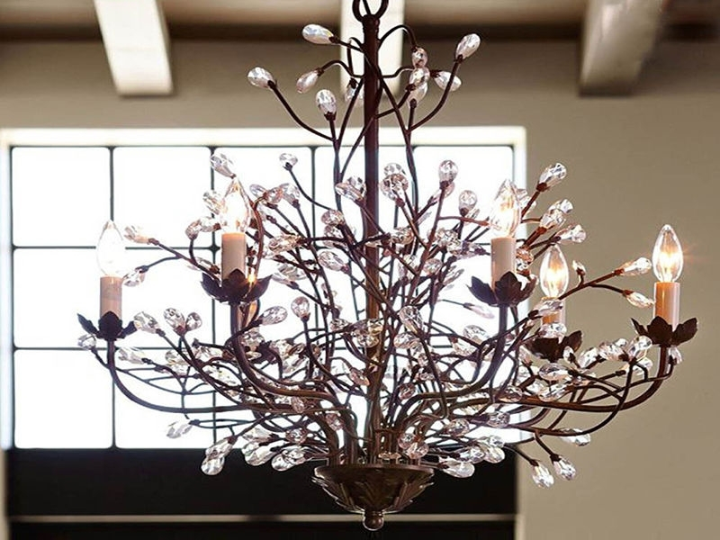 Well Known Chandelier Branches How To Make A Branch Chandelier Ebay (View 9 of 10)