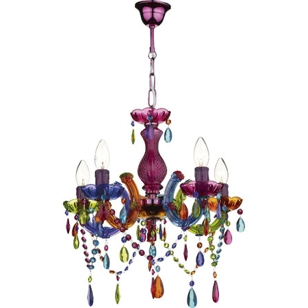 Well Known Colourful Chandeliers With Regard To Create A Bold Style Statement In Your Home With This Colourful (View 10 of 10)