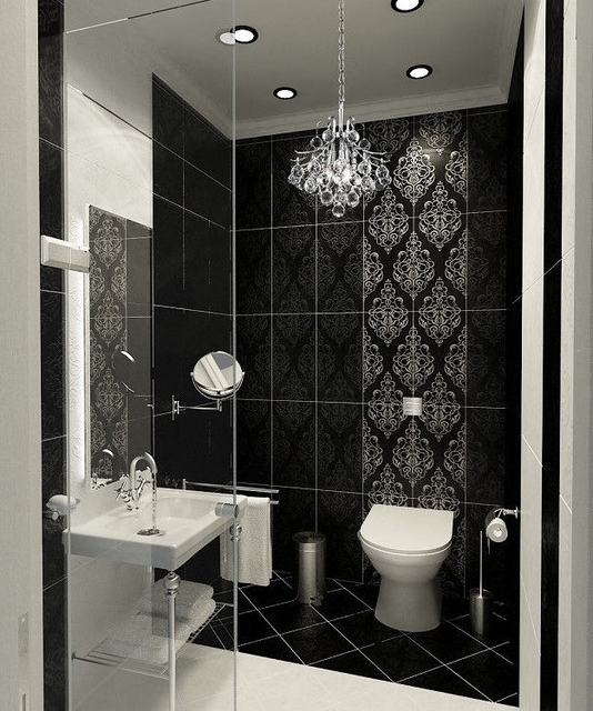 Well Known Mini Chandelier Bathroom Lighting Regarding Home Design : Wonderful Mini Chandelier For Bathroom Light In Home (View 10 of 10)
