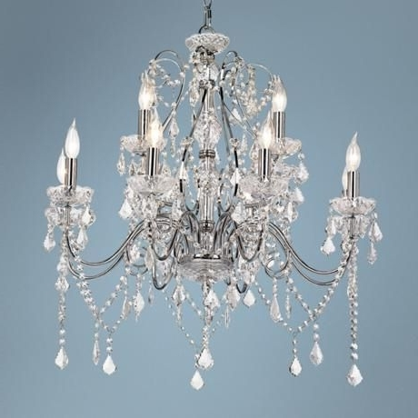 Well Known Okay, 12 Lights Now This Could Be The Dining Room Chandelier In Vienna Crystal Chandeliers (View 7 of 10)