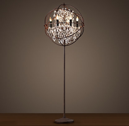 Well Known Standing Chandelier Floor Lamp (View 8 of 10)