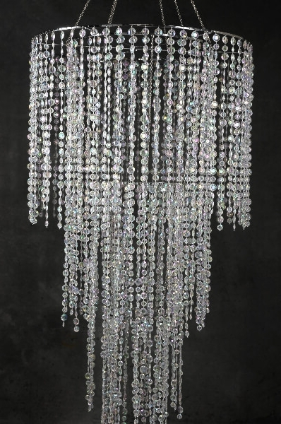 "Well Known Tier Crystal Chandelier 77"" Within Crystal Chandeliers (View 6 of 10)"