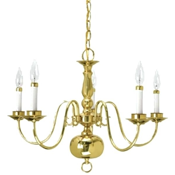 Well Known Traditional Brass Chandeliers With Regard To Traditional Brass Chandelier Crown Lighting Traditional 5 Light (View 10 of 10)