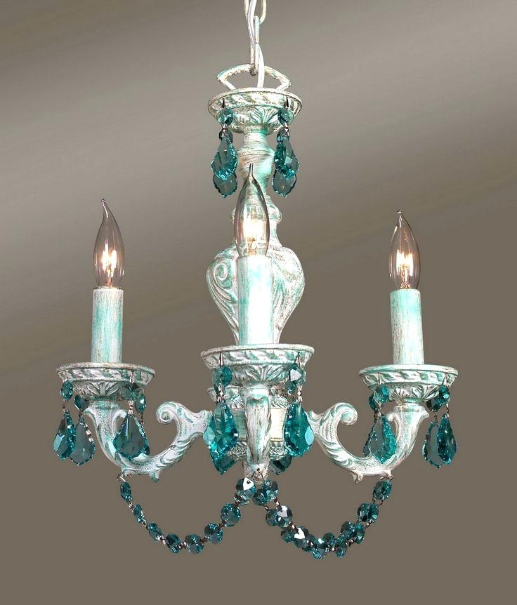 Well Known Turquoise Crystal Chandelier Best Chandeliers Weird Wonderful And Pertaining To Weird Chandeliers (View 9 of 10)