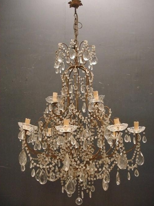 Well Known Vintage Italian Chandelier Chandelier Picture Vintage Chandelier C With Vintage Italian Chandelier (View 2 of 10)
