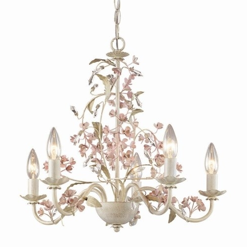 Well Liked Home Design : Amazing Shabby Chic Lighting Chandelier Large Intended For Country Chic Chandelier (View 9 of 10)
