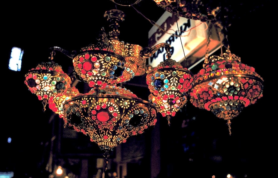 Well Liked Ornate Chandeliers With Ornate Chandeliers In Istanbul Bazaar Photographcarl Purcell (View 10 of 10)