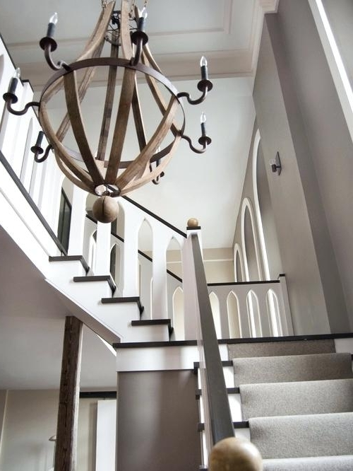 Well Liked Stairway Chandeliers In Stairway Chandeliers Modern Hallway Kitchen Chandelier Stairway (View 10 of 10)
