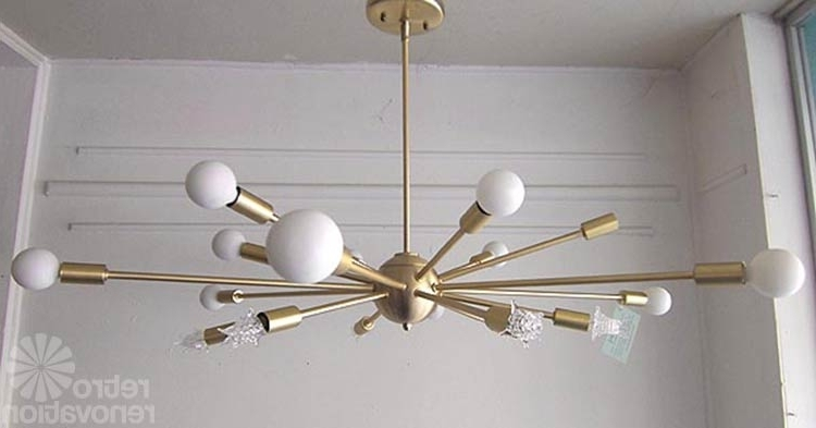 Where To Buy Sputnik Chandelier Lights Made Today Practical Intended Intended For Well Known Mini Sputnik Chandeliers (View 9 of 10)