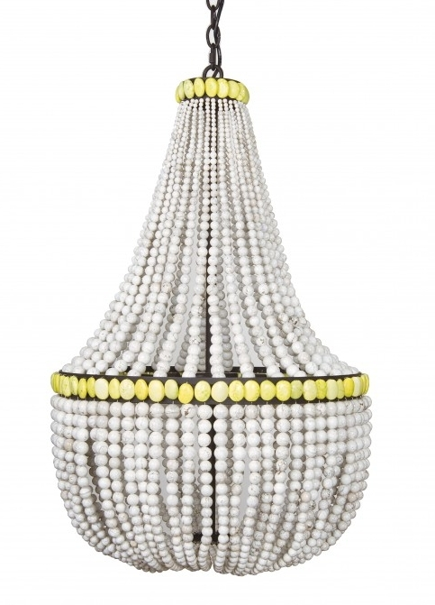 White Turquoise Empire Chandelier – Intended For Popular Turquoise Empire Chandeliers (View 10 of 10)