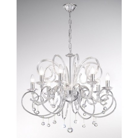 Widely Used Chrome Chandeliers Inside Ultimate Chrome Chandeliers Also Home Remodeling Ideas (View 10 of 10)