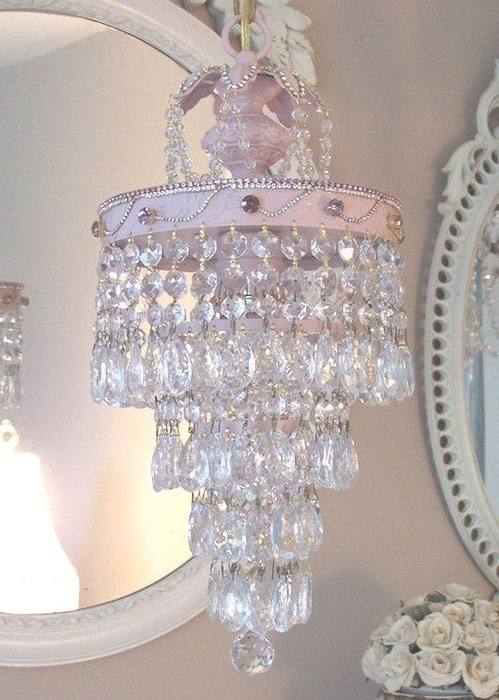 Widely Used Crystal Chandeliers For Baby Girl Room With Regard To Chandelier: Astounding Girls Room Chandelier Tadpoles Chandelier (View 10 of 10)
