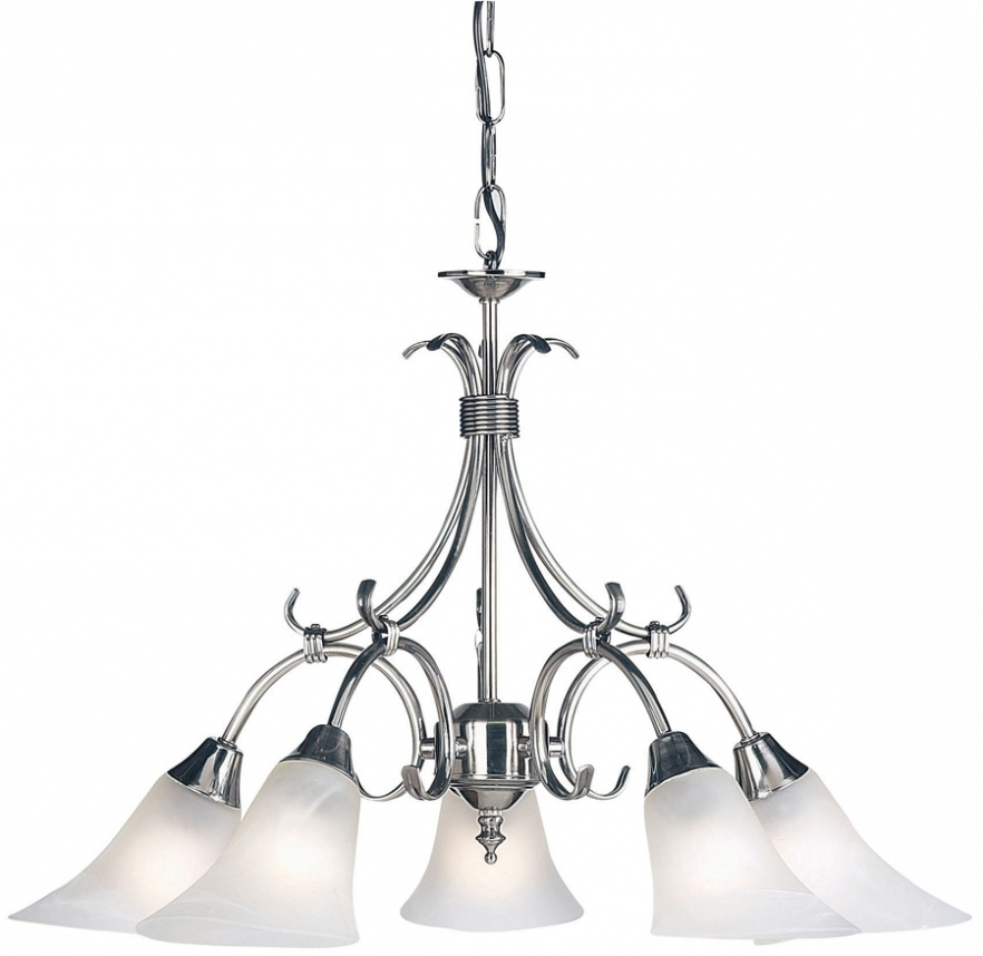 Widely Used Endon Lighting Chandeliers Regarding Chandelier ~ Antique Silver 5 Lamp Dual Mount Ceiling Light 144 5As (View 10 of 10)