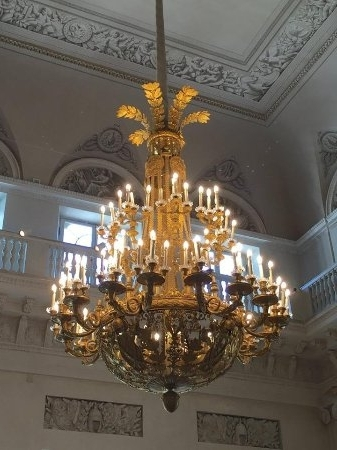 Widely Used Giant Chandeliers Regarding Giant Chandeliers – Picture Of State Hermitage Museum And Winter (View 10 of 10)