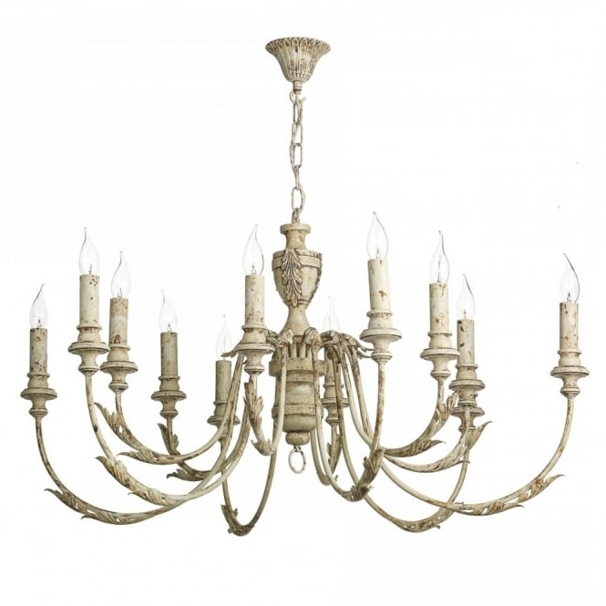 Widely Used Large Vintage French Style Chandelier Light Fitting (View 10 of 10)