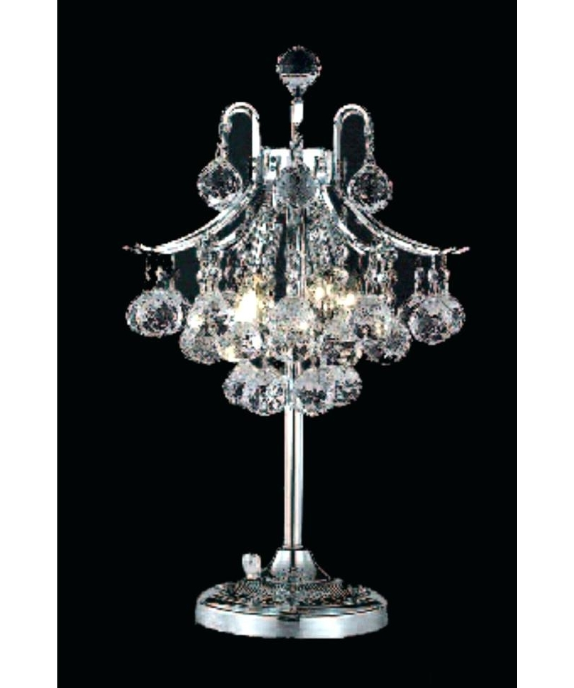Widely Used Mini Chandelier Table Lamps With Good Mini Chandelier Lamp Shades And Chandelier Table Lamp Com Black (View 10 of 10)