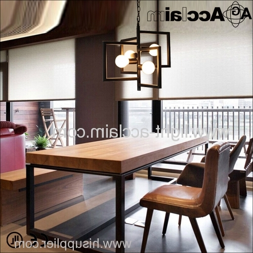 Widely Used Modern Wrought Iron Chandeliers Inside Wrought Iron Chandeliers Industrial Light Bar Table Lamp Led (View 8 of 10)