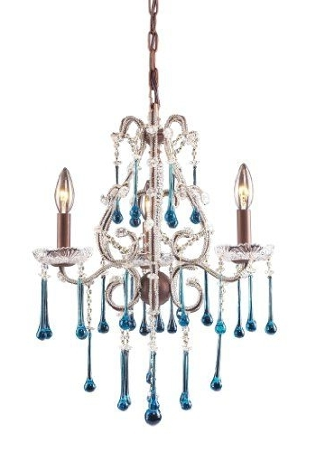 Widely Used Turquoise Mini Chandeliers Inside 9 Best Turquoise Lighting Images On Pinterest (View 10 of 10)