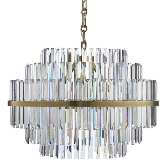 Williams Sonoma Pertaining To Vienna Crystal Chandeliers (View 10 of 10)
