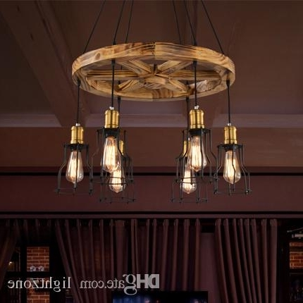 Wooden Chandeliers With Best And Newest Pendant Lights Creative Wooden Chandelier Lamps Personalized (View 10 of 10)