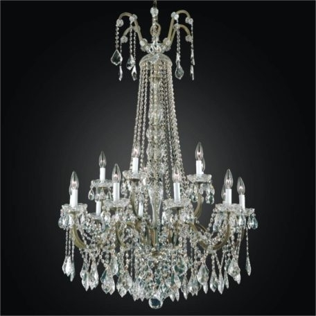 Wrought Iron Foyer Chandeliers – Large Crystal Chandelier (View 10 of 10)