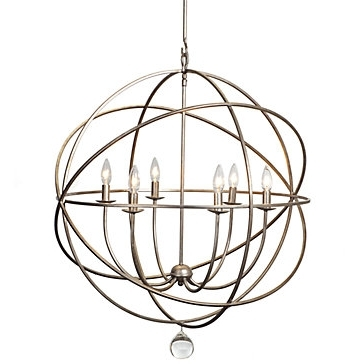 Z Gallerie In Widely Used Sphere Chandelier (Gallery 5 of 10)