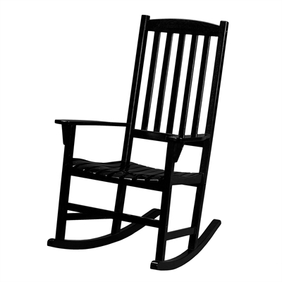 2017 Black Rocking Chairs With Boston Loft Furnishings Carolina Outdoor Rocking Chair (View 1 of 20)