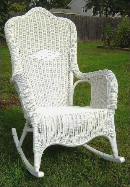 2017 Indoor Wicker Rocking Chairs Within 26 Fresh Indoor Wicker Rocking Chair Model (View 1 of 20)