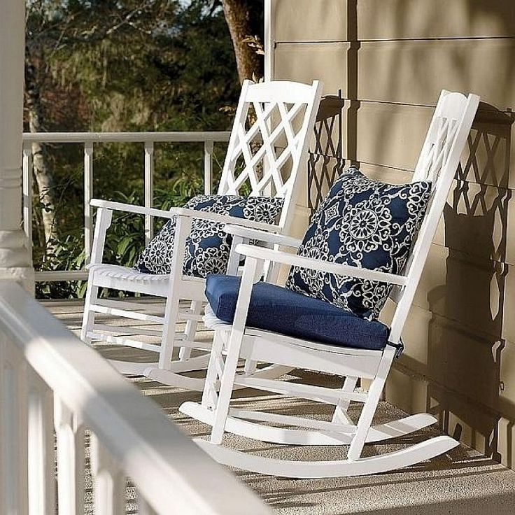 2017 Picture 5 Of 11 – Impressive Patio Rocking Chairs That Will Make Regarding White Patio Rocking Chairs (View 1 of 20)
