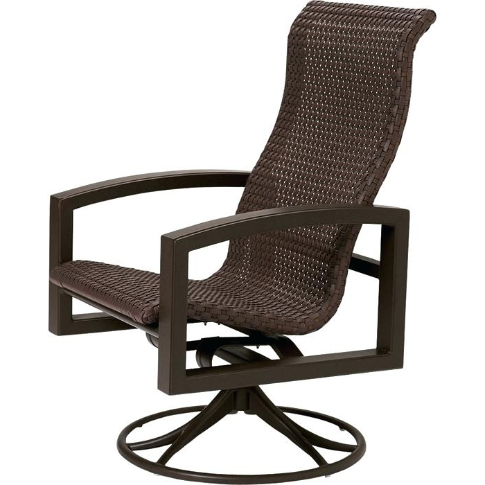 2017 Rocking Patio Furniture Lakeside Woven Swivel Rocker Outdoor With Regard To Patio Rocking Swivel Chairs (View 2 of 20)