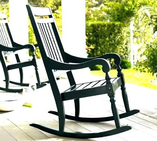 2017 Vintage Outdoor Rocking Chairs Regarding √ Outdoor Metal Rocking Chair Metal Outdoor Chairs Vintage Outdoor (View 1 of 20)