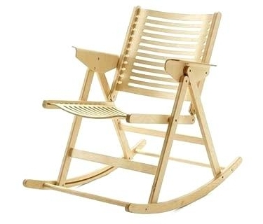 2018 Foldable Rocking Chair Rocking Chair Foldable Rocking Chair In Folding Rocking Chairs (View 2 of 20)