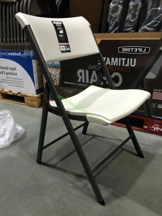 2018 Folding Chairs Costco Lifetime Products Folding Chair Folding Chairs With Regard To Rocking Chairs At Costco (View 1 of 20)