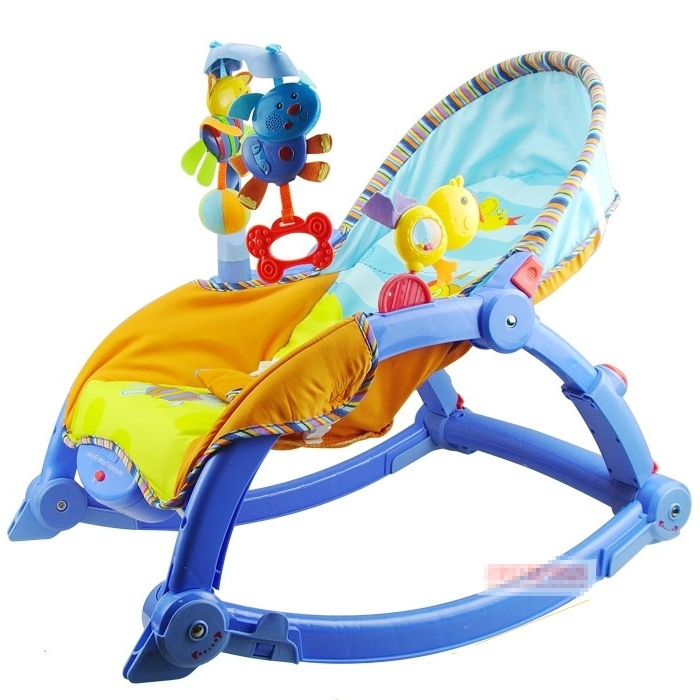 2018 Rocking Chairs For Babies Intended For Free Shipping Musical Baby Electric Rocking Chair Newborn Baby (View 2 of 20)