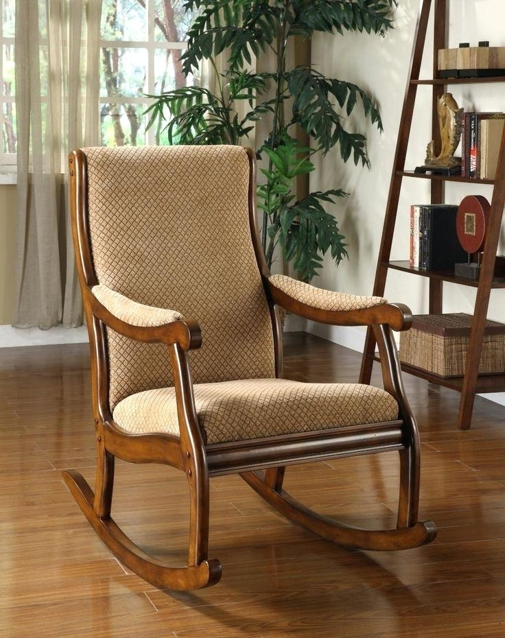 2018 Rocking Chairs For Small Spaces Inside Rocking Chair For Small Spaces Nursery Rockers For Small Spaces (Gallery 10 of 20)