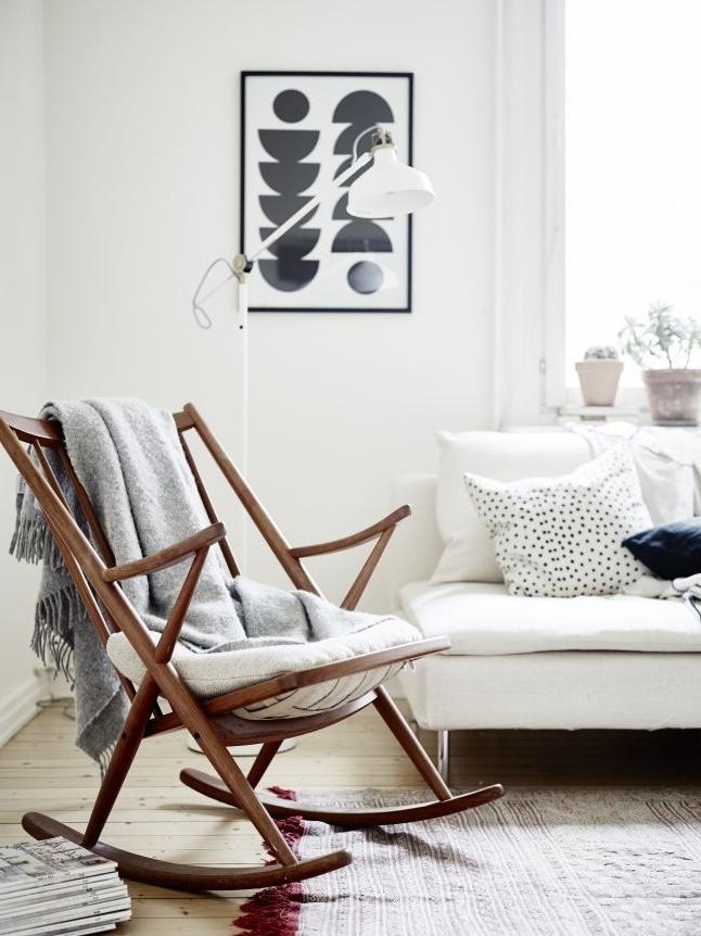 2018 Stylish Rocking Chair// Ähnliche Projekte Und Ideen Wie Im Bild Regarding Rocking Chairs For Living Room (View 19 of 20)
