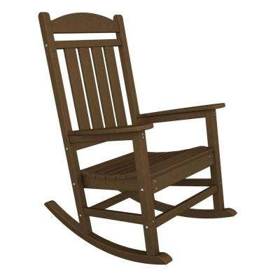 2018 Teak Patio Rocking Chairs With Teak – Rocking Chairs – Patio Chairs – The Home Depot (View 10 of 20)