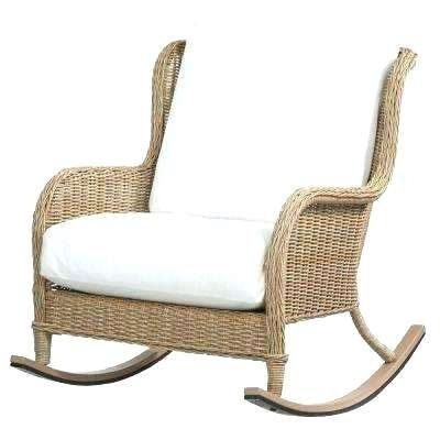 All Weather Rocking Chair All Weather Wicker Patio Swivel Rocking Intended For Most Recent All Weather Patio Rocking Chairs (View 10 of 10)