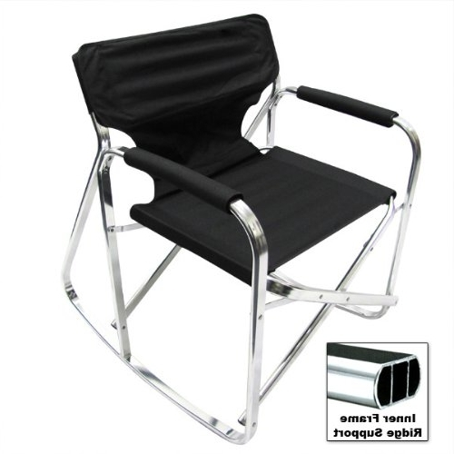 Amazon : Directors Folding Rv Rocking Chair Folding Director's Within Preferred Xl Rocking Chairs (View 1 of 20)