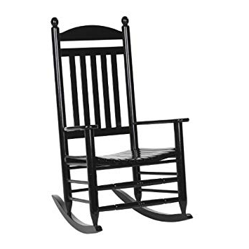 Amazon: Hinkle 200Sb Ds Slat Back Rocker, Black: Baby With Regard To Widely Used Black Rocking Chairs (View 3 of 20)