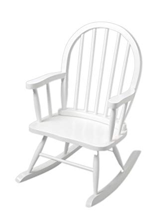 Amazon: Windsor Childrens Rocking Chair White: Toys & Games Regarding Famous Amazon Rocking Chairs (View 13 of 20)