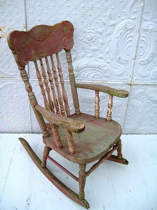 Antique Furniture Intended For Antique Rocking Chairs (View 1 of 20)