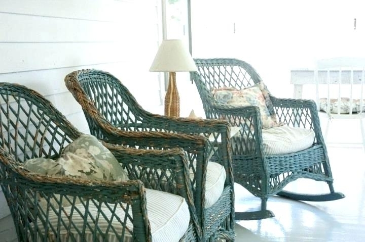 Antique Wicker Chairs Rocking Chair Prices – Decoration Living New For Popular Antique Wicker Rocking Chairs With Springs (View 1 of 20)