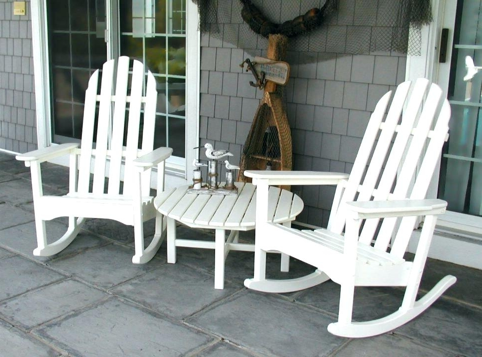Astonishing Wooden Porch Rockers K5455970 Patio Rocking Chair Throughout Most Popular Outdoor Patio Rocking Chairs (View 2 of 20)