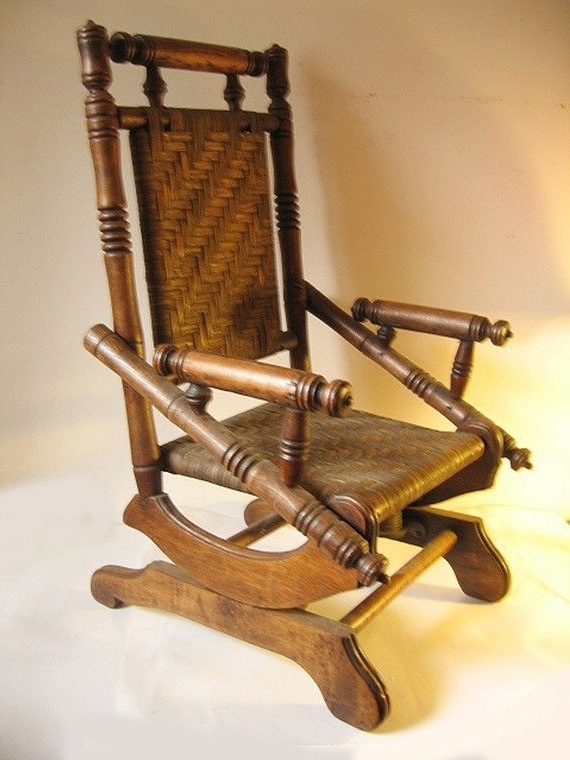 Best 2000+ Antique With Regard To Rocking Chairs With Springs (View 8 of 20)