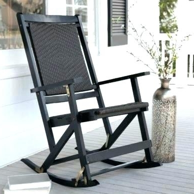 Best And Newest Black Patio Rocking Chairs For Archaicawful Eye Catching Patio Rocking Chairs In Amazon Com Outdoor (View 2 of 20)