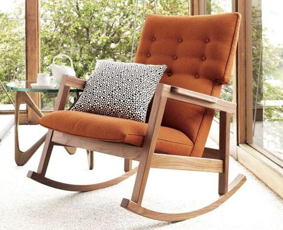 Best And Newest Modern Rocking Chair Unique And Attractive (View 3 of 20)